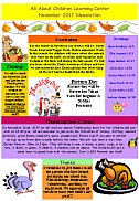 All About Children Learning Center - May 2017 Newsletter